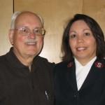 L to R: Bob Outer and Doris Gonzalez