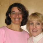 L to R:  Judy Lombardi, Kathy Kruger