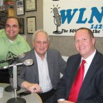 L to R: Technical Engineer Jay Verzi, Co-host Jonah Triebwasser, Guest Eben Yager