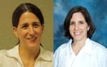 (L-R) Allison Gould, Dr. Jodi Friedman