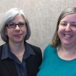 (l to r) Merribeth Advocate, Erica Freudenberger