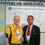 (l-r) Co-host, Jonah Triebwasser & Dr. Tam Mustapha (RLI)