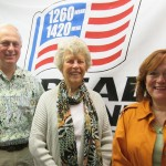 (l-r) Jonah Triebwasser, Betsy Shequine, Sarah O'Connell
