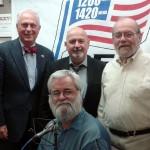 (l-r) Jonah Triebwasser, Joe Conti, Ken Moody and (seated) Brian Riddell