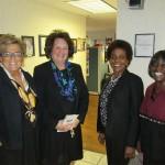 (l-r) Sheila Rock, Marlene Fredericks, Patsy Kimbrew & Cheryl George