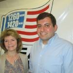 (l-r) Carolyn Bernitt, Brian Zeiden